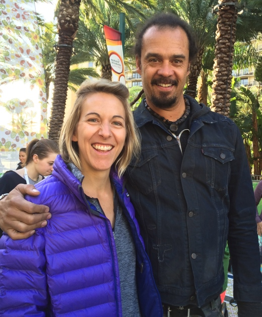 Morning yoga with Michael Franti